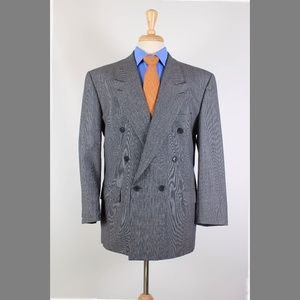 Yves Saint Laurent 42S Gray Sport Coat Y435